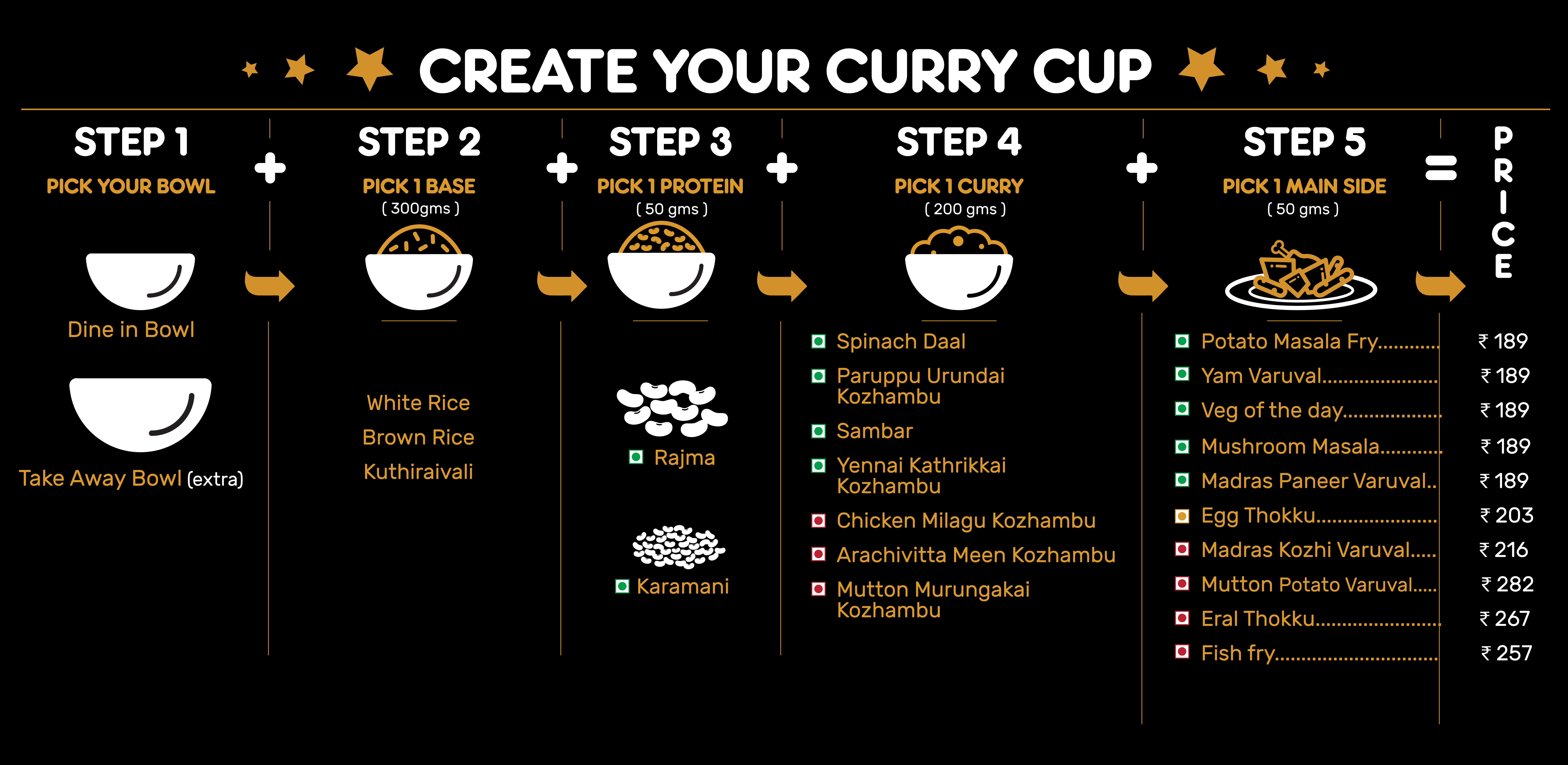 Madras Curry Cup